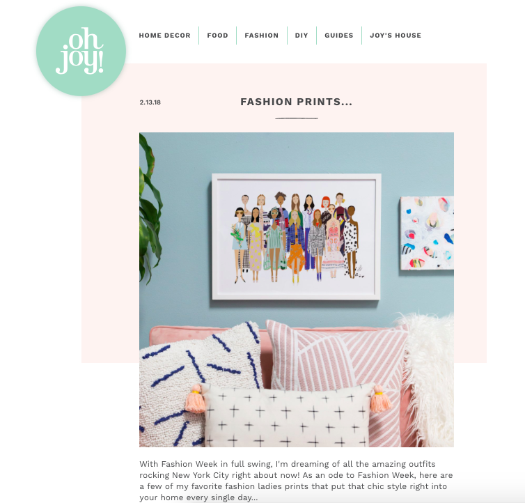 pploffashion x ohjoy! collab - In 2018, I did a special collaboration with OhJoy! for the launch of her OhJoy Shop. Read about it here.