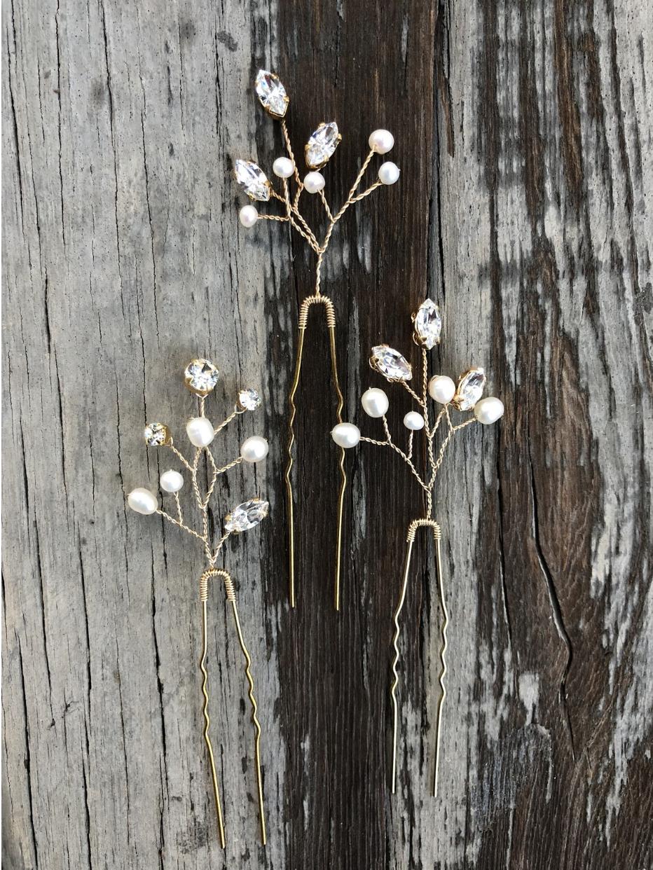 Lilac U-Pins - 4 posts