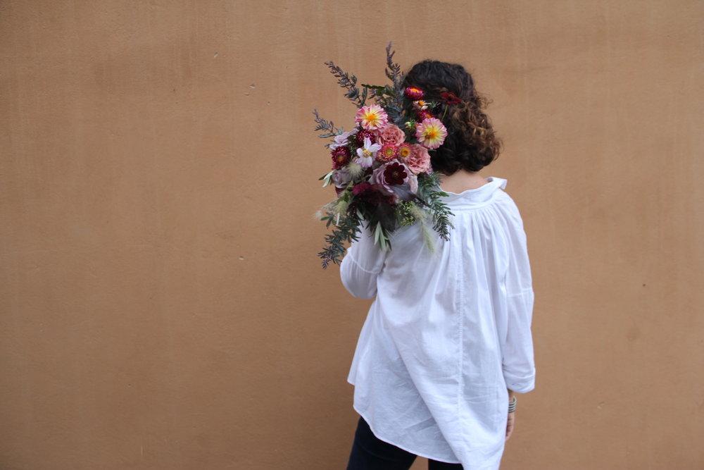 Aquí queremos echarle flores a todo -