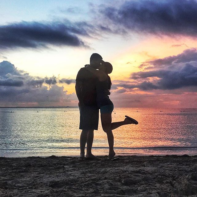 Last Friday my best friend of 7 years asked me to do life with him. 😍 We snuck away to Cancun for an impromptu vacation and Matt surprised me with a proposal on the beach. 😱 Four days later, I'm still completely in shock that I get to spend the rest of my life with the most handsome, loving, hilarious, and generous guy out there. There are no bounds to this man's heart and I can't believe he's decided to make me the center of it. ❤️ Pinch me y'all, I'm the luckiest girl in the world!