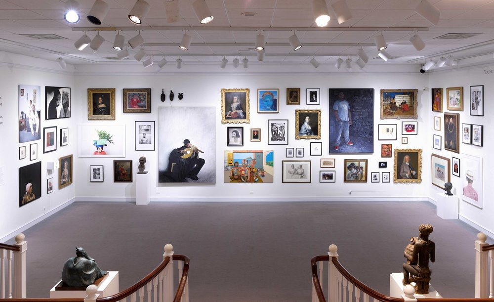 The Bermuda National Gallery's permanent collection.
