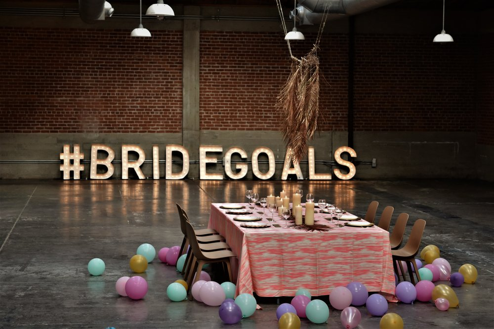 #BRIDEGOALS - AN INTIMATE DINNER PARTY FOR A BACHELORETTE.