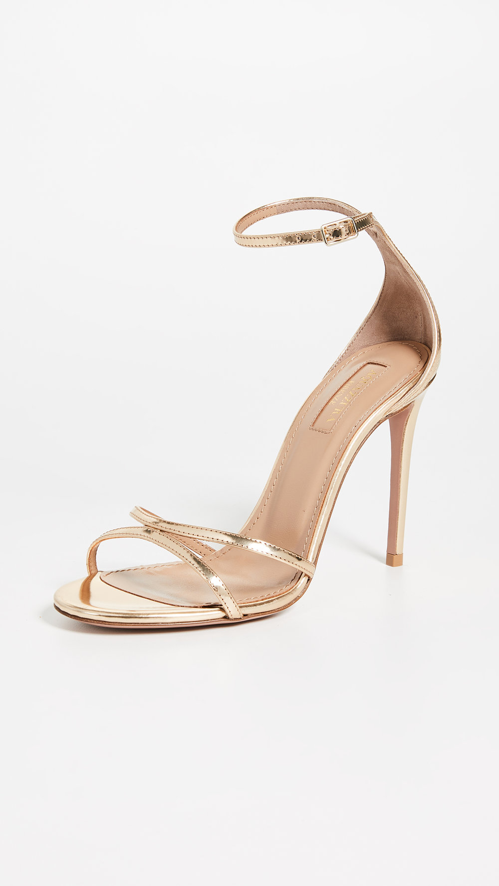PURIST 105MM SANDAL BY AQUAZURRA, $695 AT SHOPBOP.COM