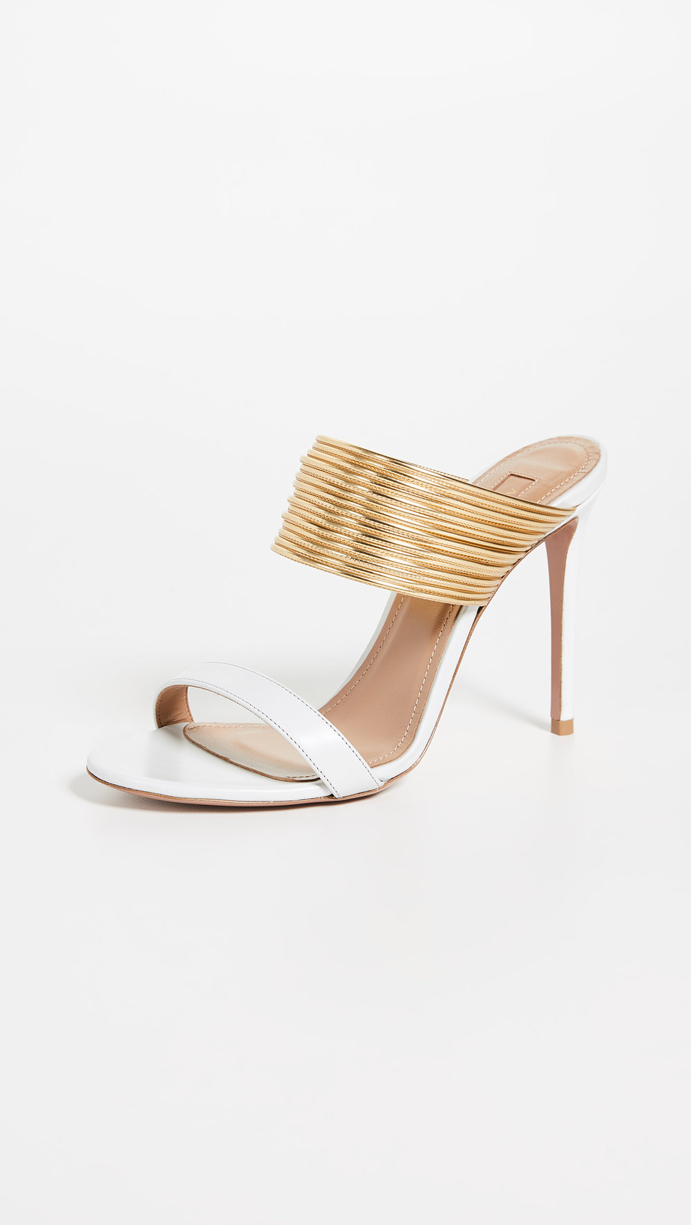 RENEZ VOUS 105 SANDALS BY AQUAZURRA, $725.00 AT SHOPBOP.COM