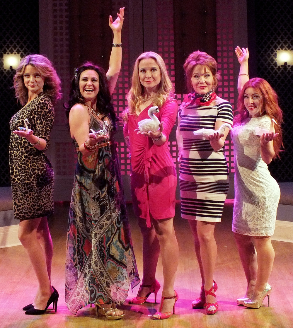 meet the wives! - Joanne, Babette, Penny, Lulu, and Beezus: The Real Housewives of Silicon Valley. These ladies have it all. Or do they?Scandalous surprises and bitter betrayals mix with a healthy dose of Pinot Grigio and pharmaceuticals to create this hilarious romp inspired by America's guilty pleasure. Come and climb the social ladder with our wives in this delicious musical parody, featuring an original score guaranteed to knock your stilettos off!Real Housewives of Silicon Valley will be presented in concert with full book & score.