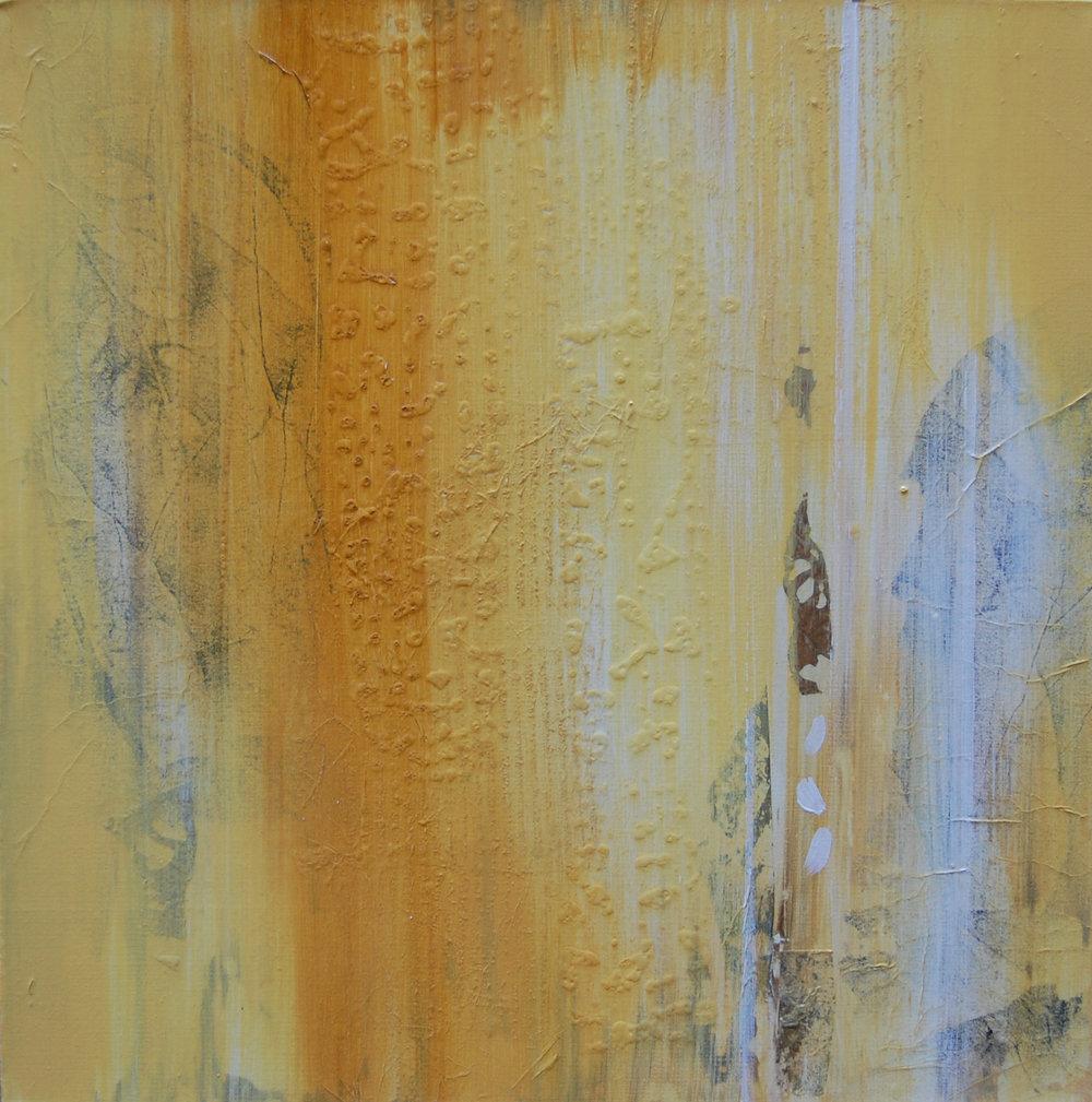 Bonnie Hawley  Naples Yellow 24 x 24  Oil on canvas Originally $540   Sale $270