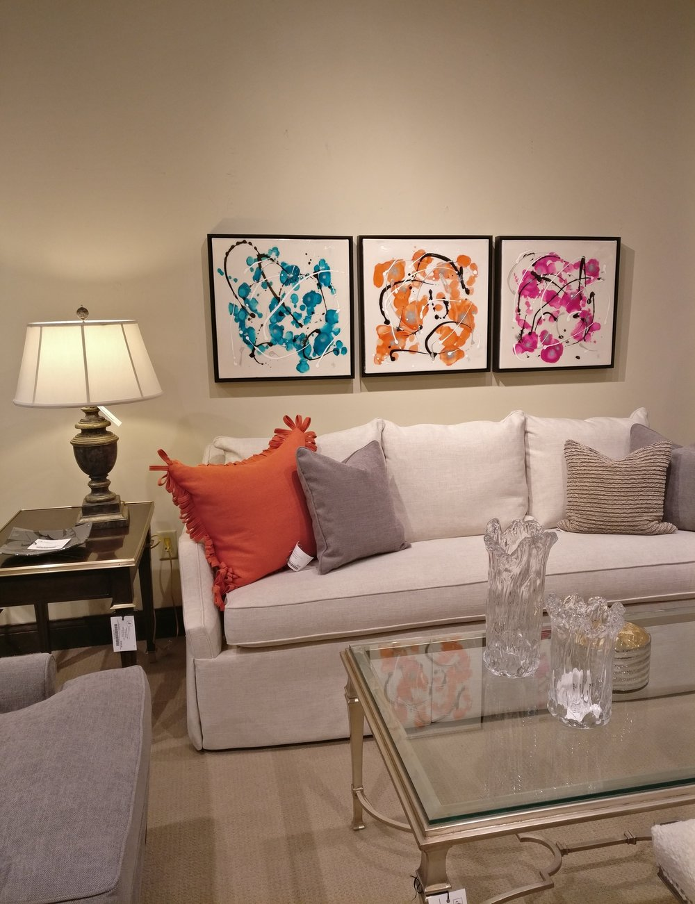 Design Professionals Showroom - Janella Fesenmaier, Color Bursts
