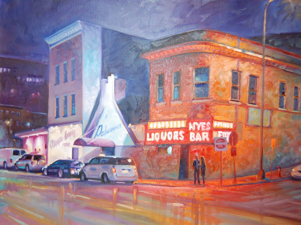 Nye's  - Tom Foty24 x 18   Oil on canvas