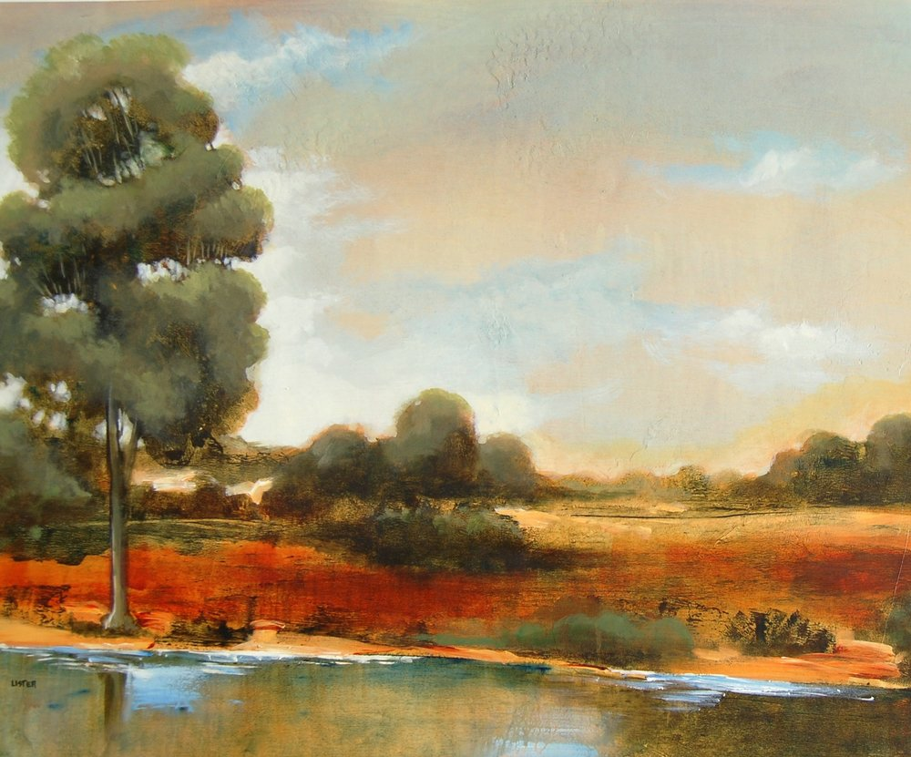 landscape - Lister24 x 30    Oil on canvas