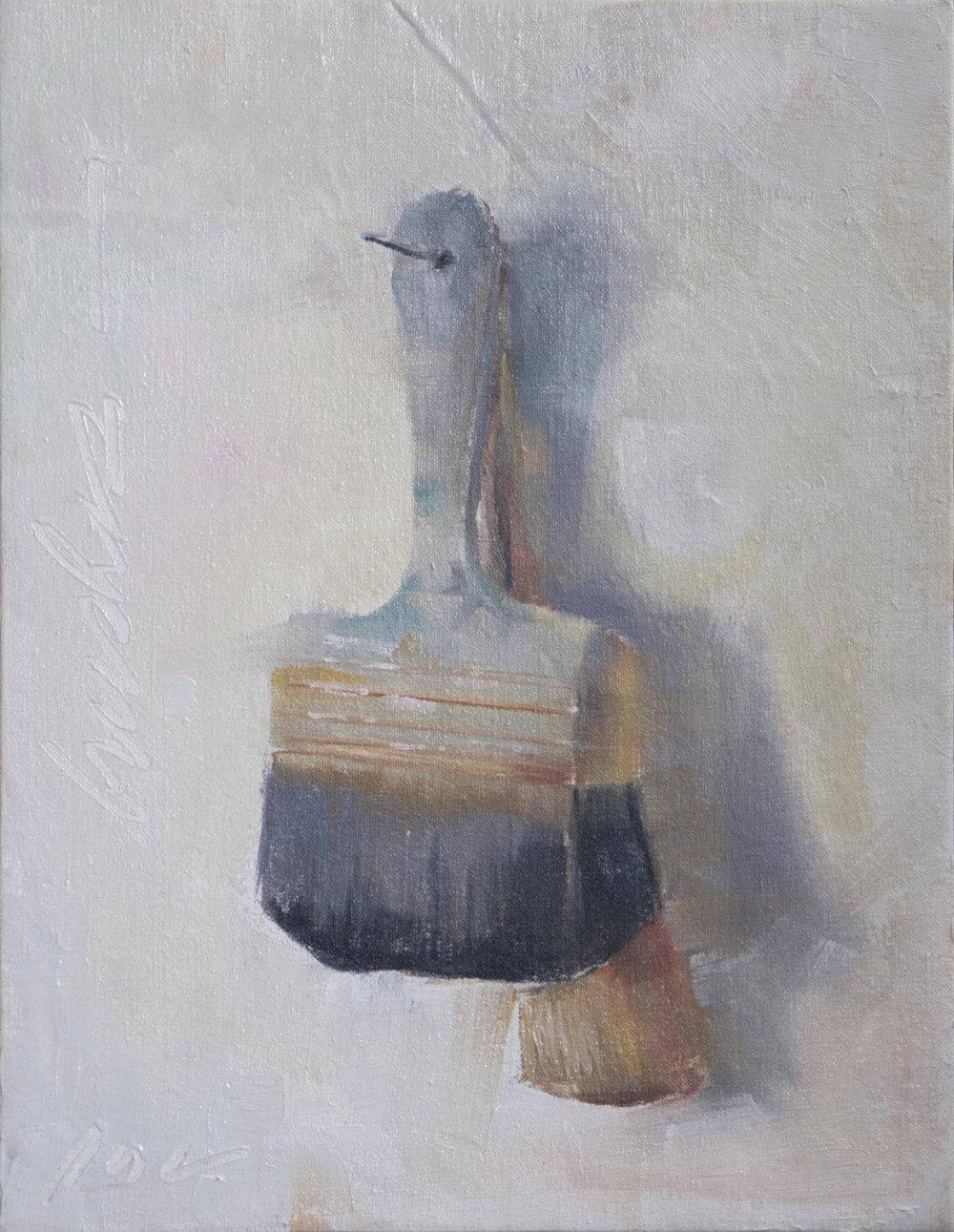 brushes - Patricia Canney16 x 12  medium