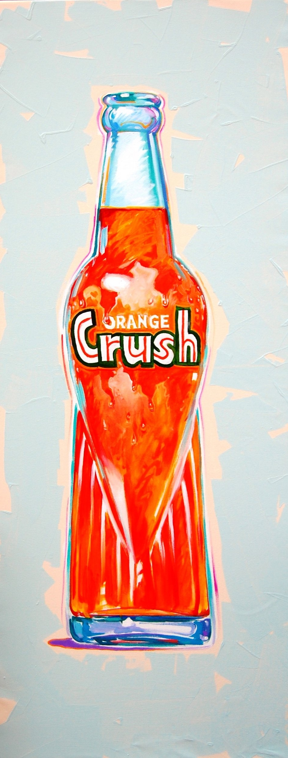 Orange crush - Tom Foty60 x 24    Acrylic on canvasSee more from this artist