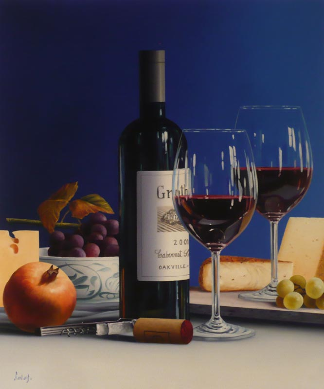 vino en azules - Roberto Salas24 x 20    Oil on canvasSee more from this Artist