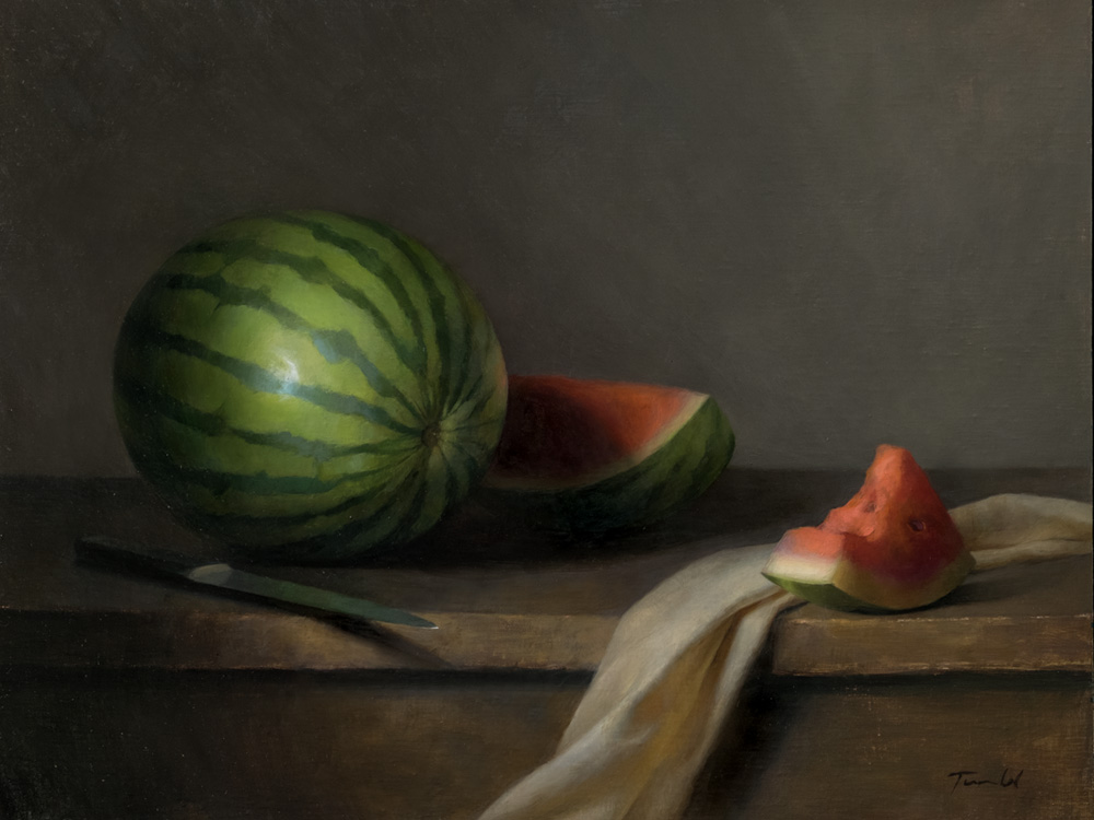 watermelon - Laura Tundel15 x 19    Oil on canvasSee more from this artist
