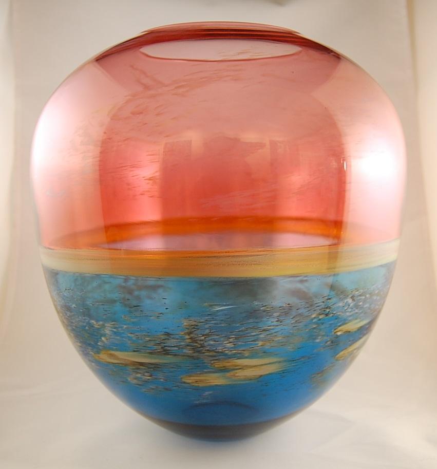 Encalmo Bowl - Nolan Prohaska11 x 9  Glass