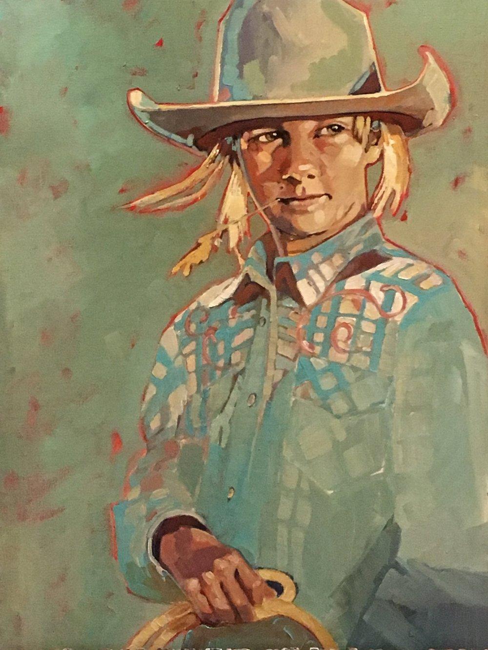 big dreams - Peggy Judy24 x 18  Oil on canvasg\