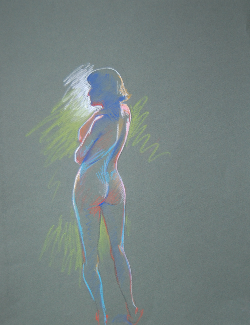 nude - Tom Foty26 x 20  Pencil on paperSee more from this artist