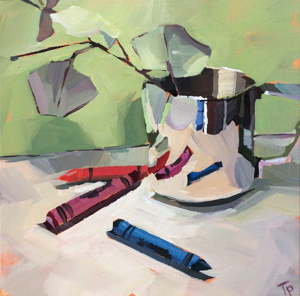 essentials - Teddi Parker8 x 8  Acrylic on canvas