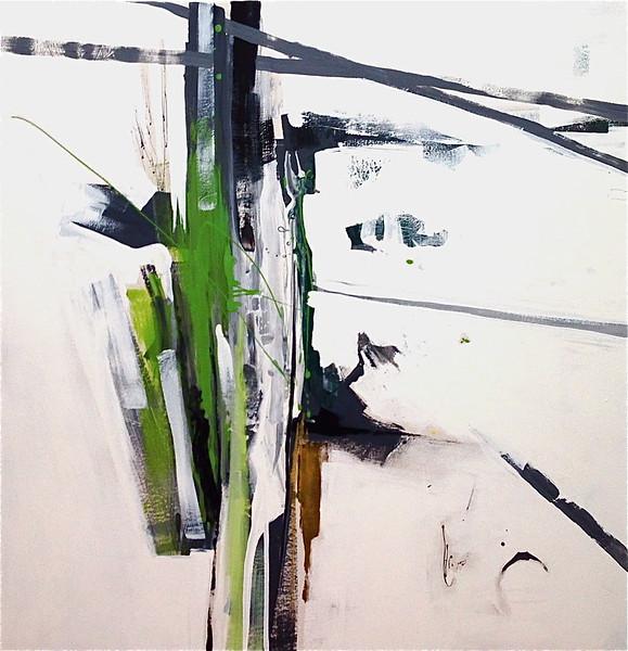 sasuska - KC Haxton48 x 48  Acrylic on canvas