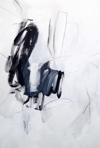 gestural composition - Jeff Iorillo60 x 40  Acrylic on canvas