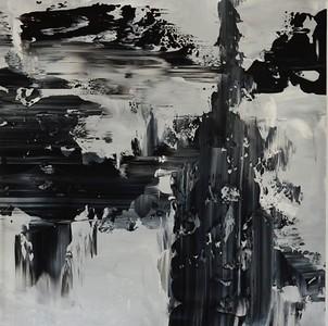 rush - Jeff Iorillo42 x 42  Acrylic on canvas