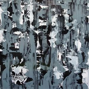 ice torrent - Jeff Iorillo40 x 40  Acrylic on canvas