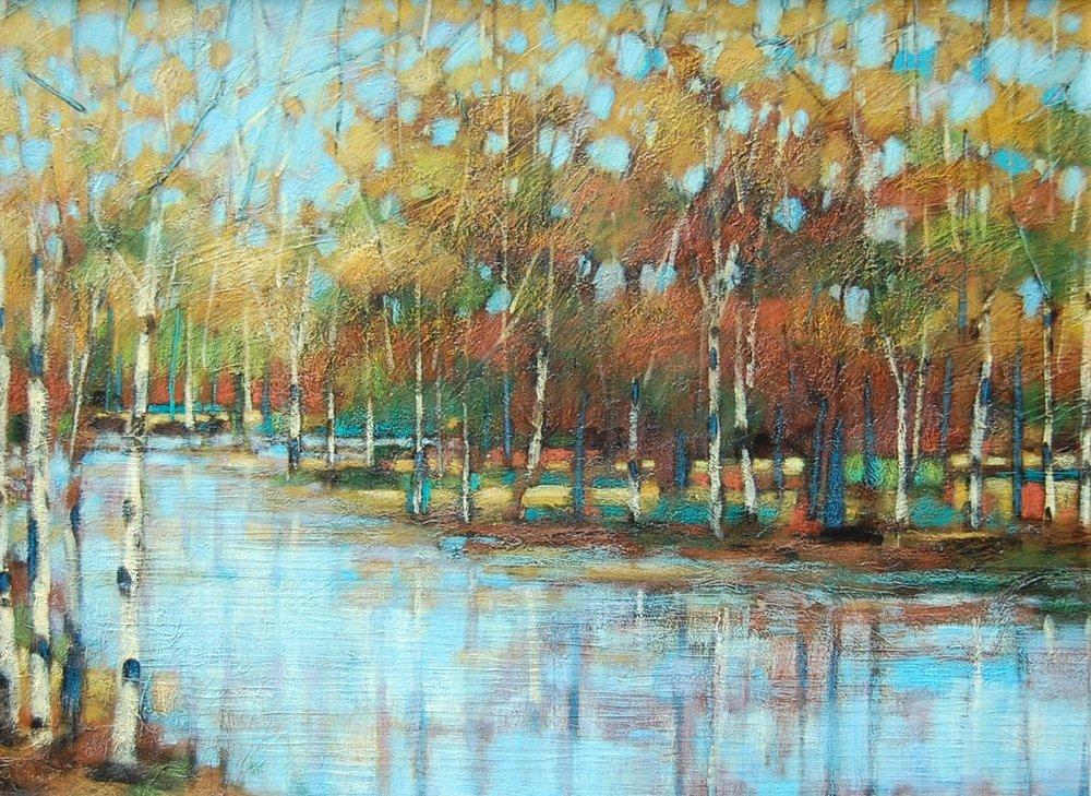 landscape - Robert Chapman40 x 30  Oil on canvas