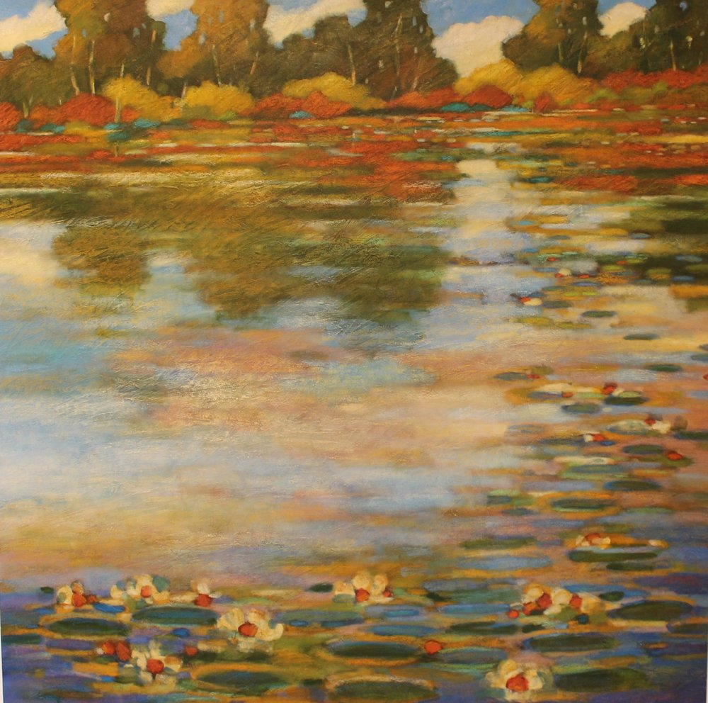 morning reflection - Robert Chapman40 x 40  Acrylic on canvas