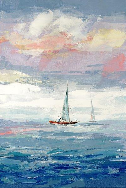 set sail - Cecil K24 x 36  Oil on paper