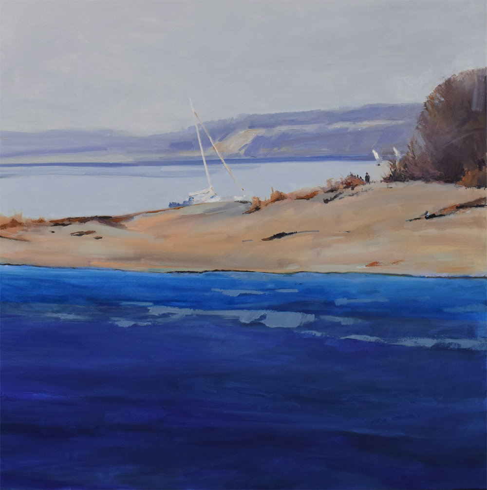 the picnic - Jessie Rasche40 x 40  Oil on canvas