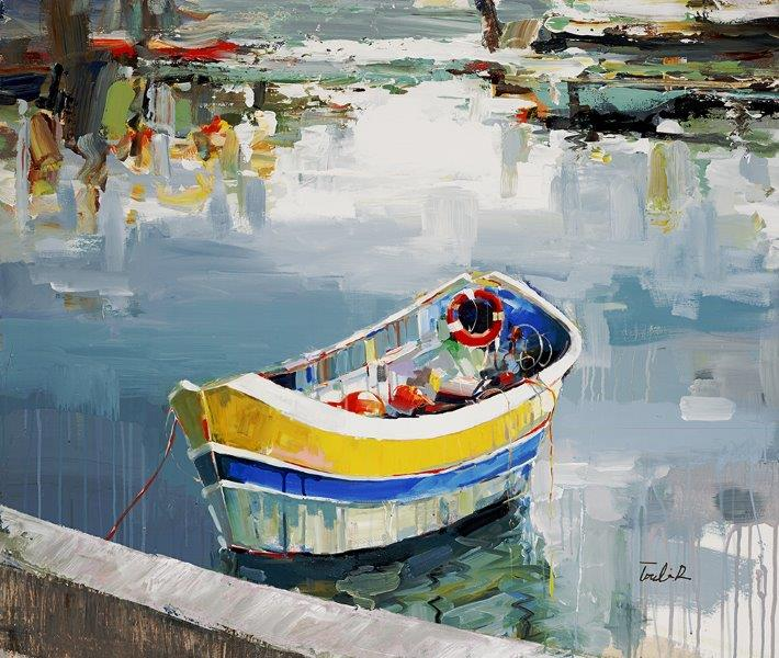 cozy days - Torabi44 x 38  Oil on canvas