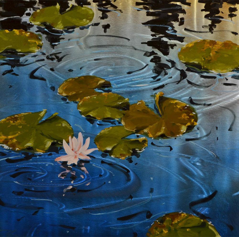 serenity - Scott Harris24 x 24  Oil on metal