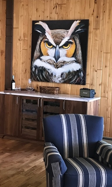 Private REsidence - Jeff Boutin, Mr Hoot (sold)