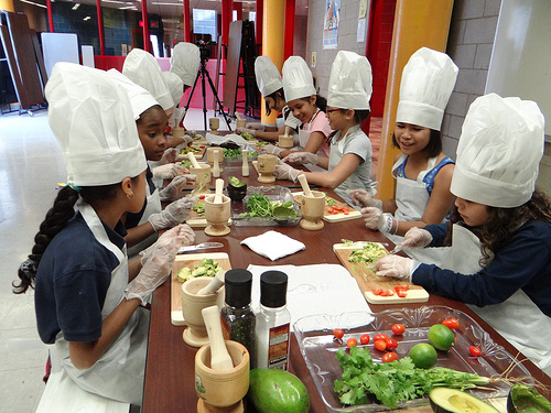 Eat Fresh,Feel Fresh - We strive to make sure that future generations have access and education to fresh foods. By partnering with schools, restaurants and parents in our community, we are ensuring that our future leaders are starting off fresh and healthy.