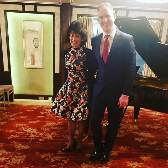 Such a beautiful evening making music with #NorikoOgawa thank you so much @absolute_classics for taking us to Hong Kong! So wonderful to start a new partnership! 🎹🎷 🎵🎶 ❤ Also great to have an unbelievable lunch this afternoon at Hong Kong's #Chinaclub 😊😊😊😊 . . . . #mandarinoriental #hongkong #norikoogawa #saxandpiano #saxandpianoduet #saxophone #music #classicalmusic #absoluteclassics
