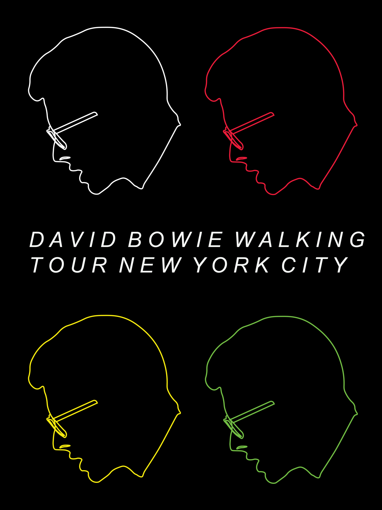 DAVID BOWIE WALKING TOUR NEW YORK CITY