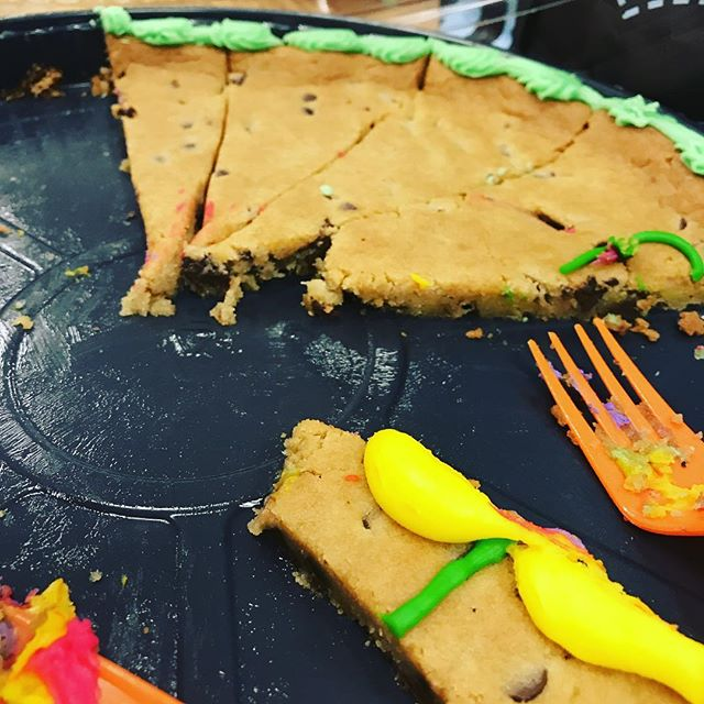 Cookie cake for the win!