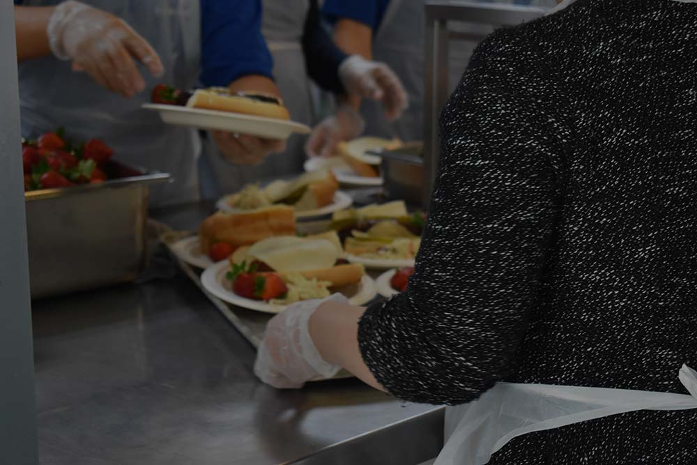 1 MILLION - WARM, NUTRITIOUS MEALS WERE SERVED TO NEIGHBORS IN NEED.