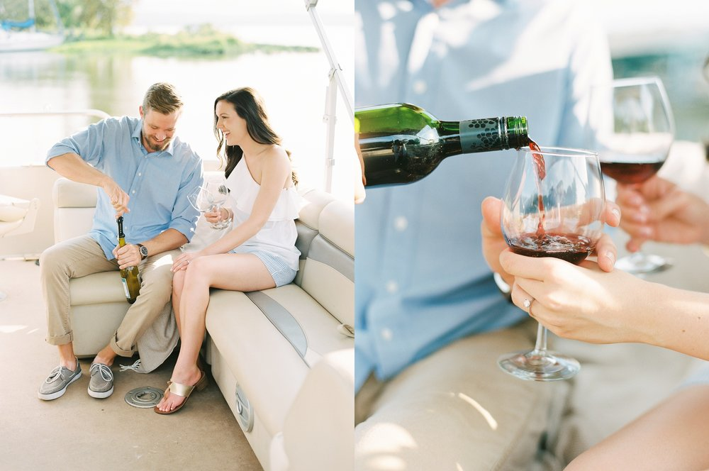 Nautical Boat Engagement Session Film Photographer_0548.jpg