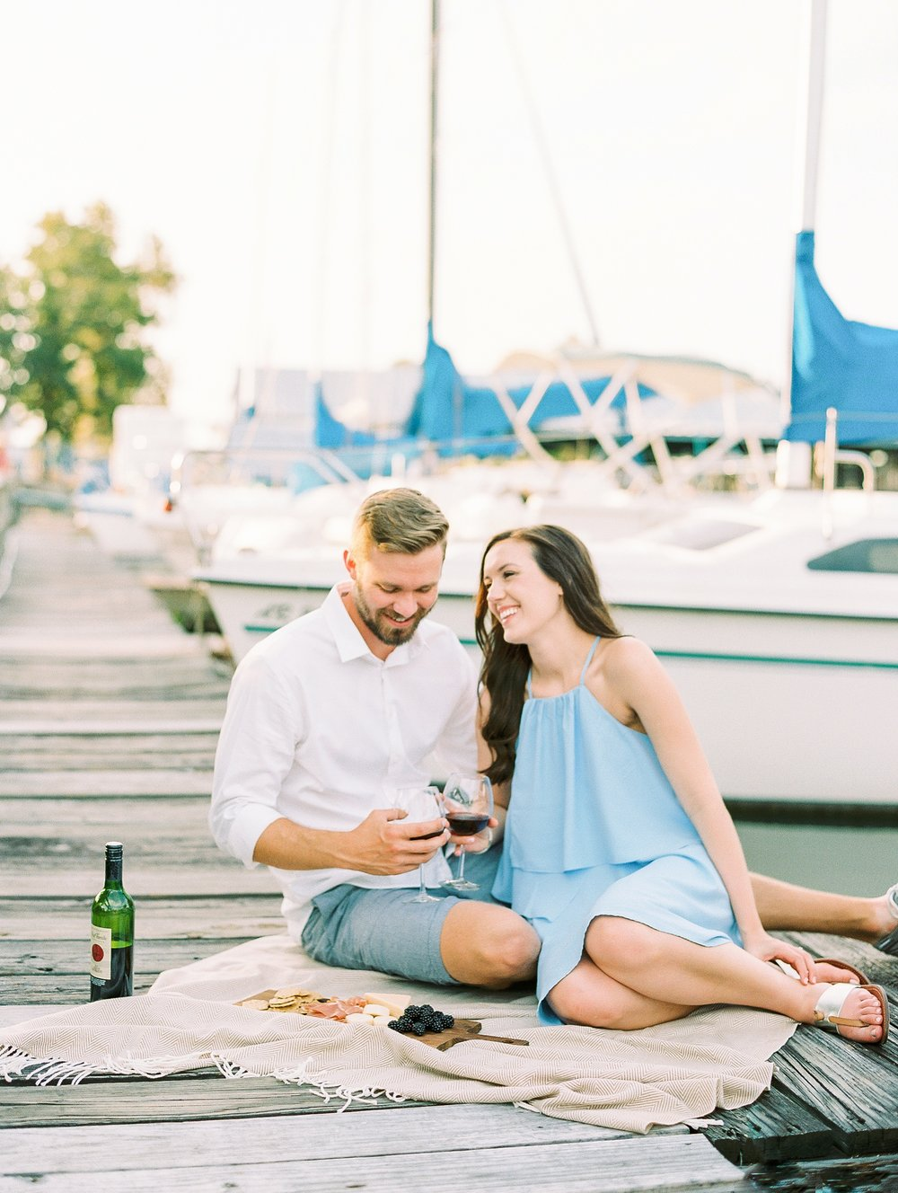 Nautical Boat Engagement Session Film Photographer_0560.jpg