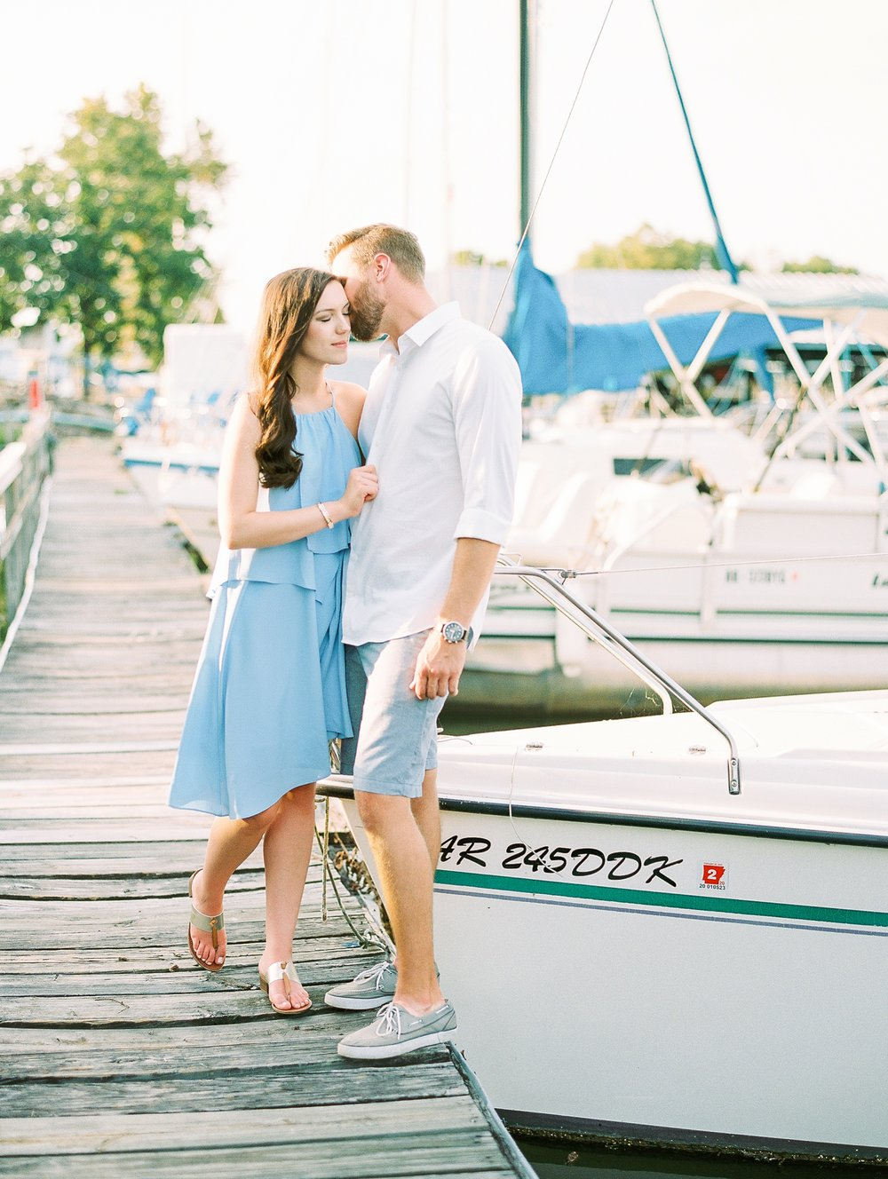 Nautical Boat Engagement Session Film Photographer_0561.jpg
