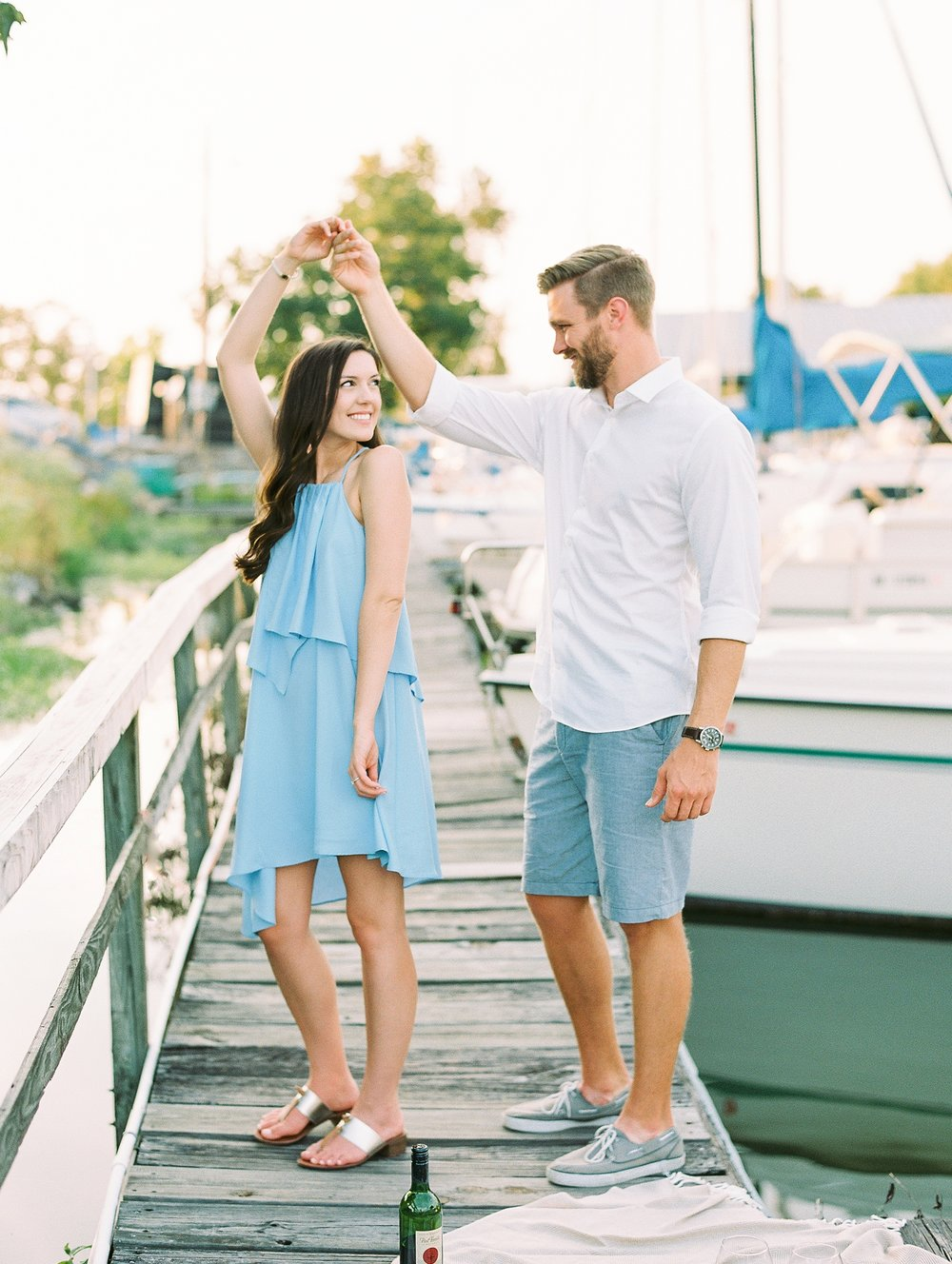 Nautical Boat Engagement Session Film Photographer_0563.jpg