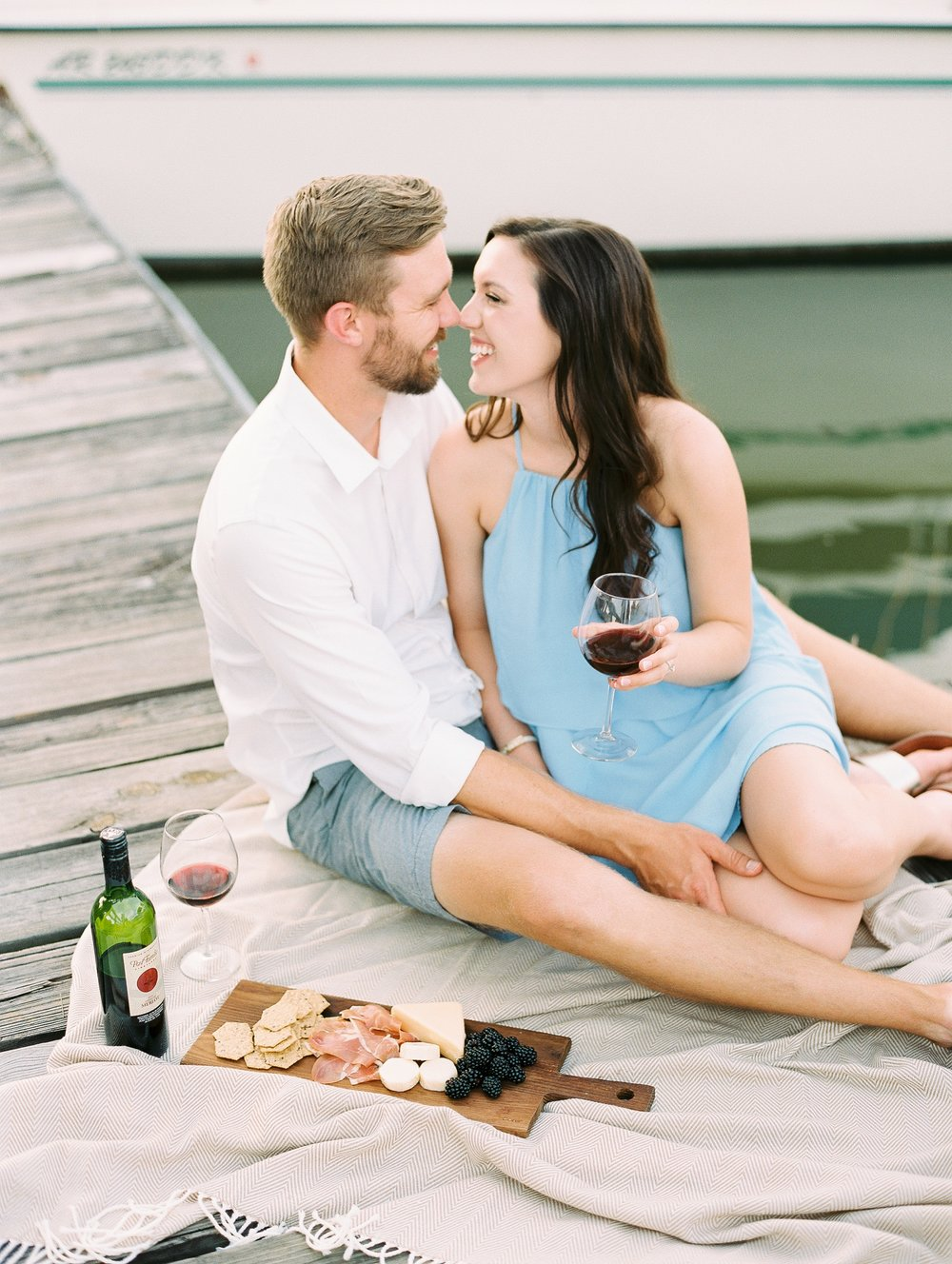 Nautical Boat Engagement Session Film Photographer_0565.jpg