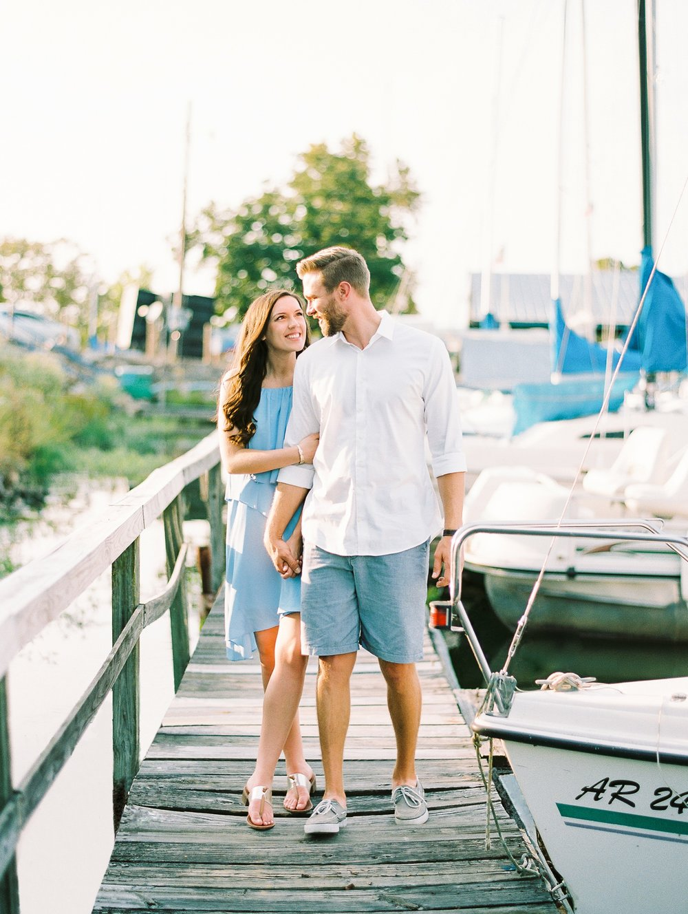 Nautical Boat Engagement Session Film Photographer_0573.jpg