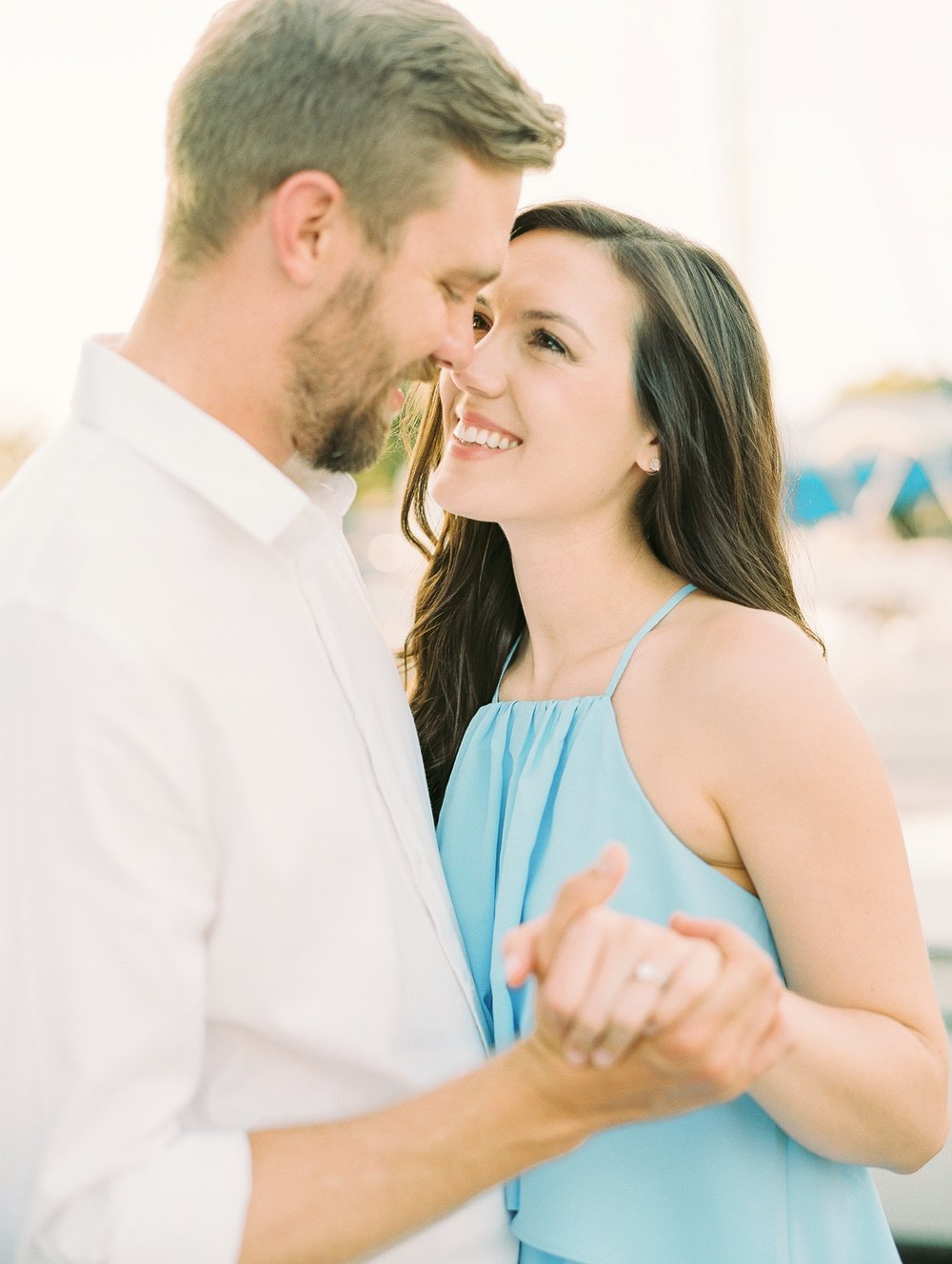 Nautical Boat Engagement Session Film Photographer_0580.jpg