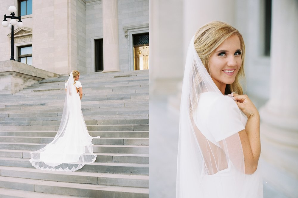 Arkansas Capitol Building Bridals Wedding Photographer_0110.jpg