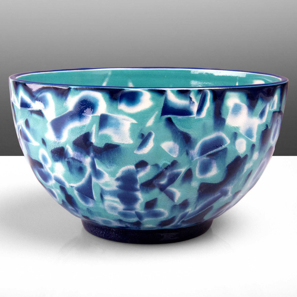 Reef Series Ceramic Bowl by Rowena Gilbert