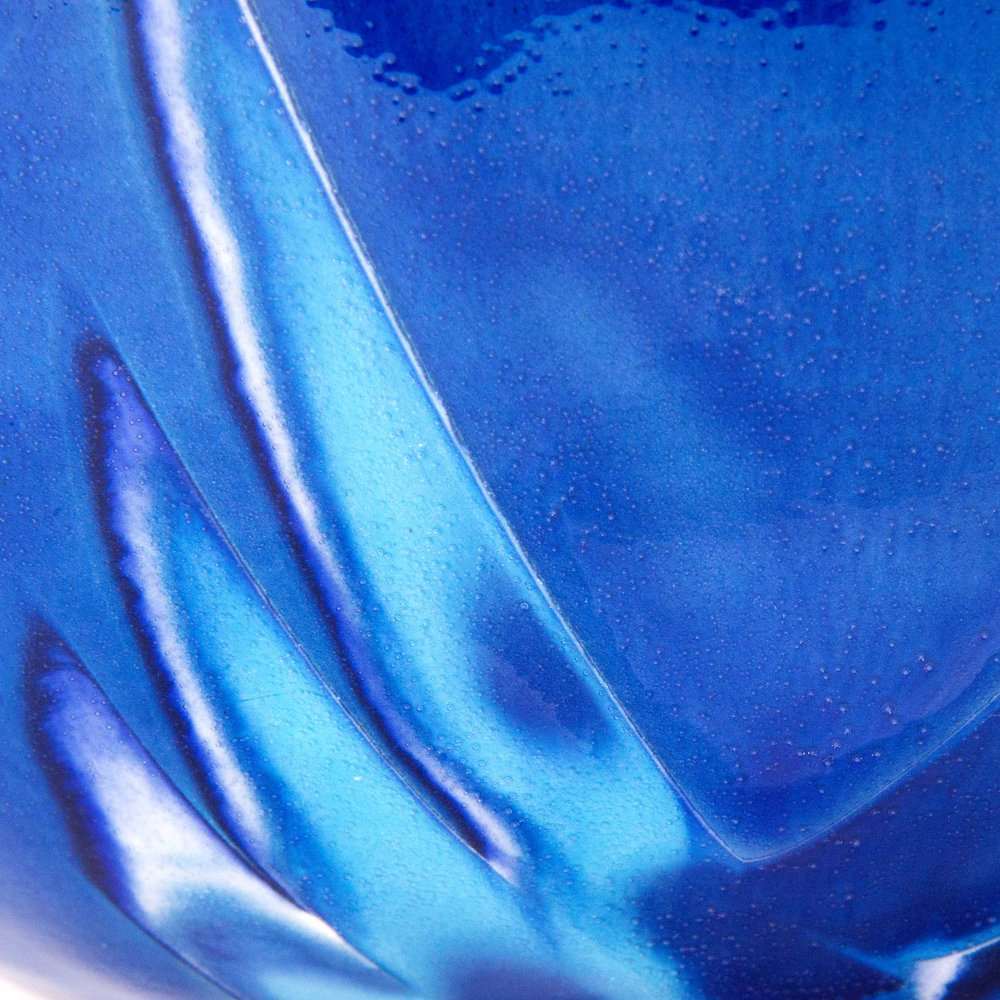 Wave Inspired Ceramic Glaze Effect by Rowena Gilbert