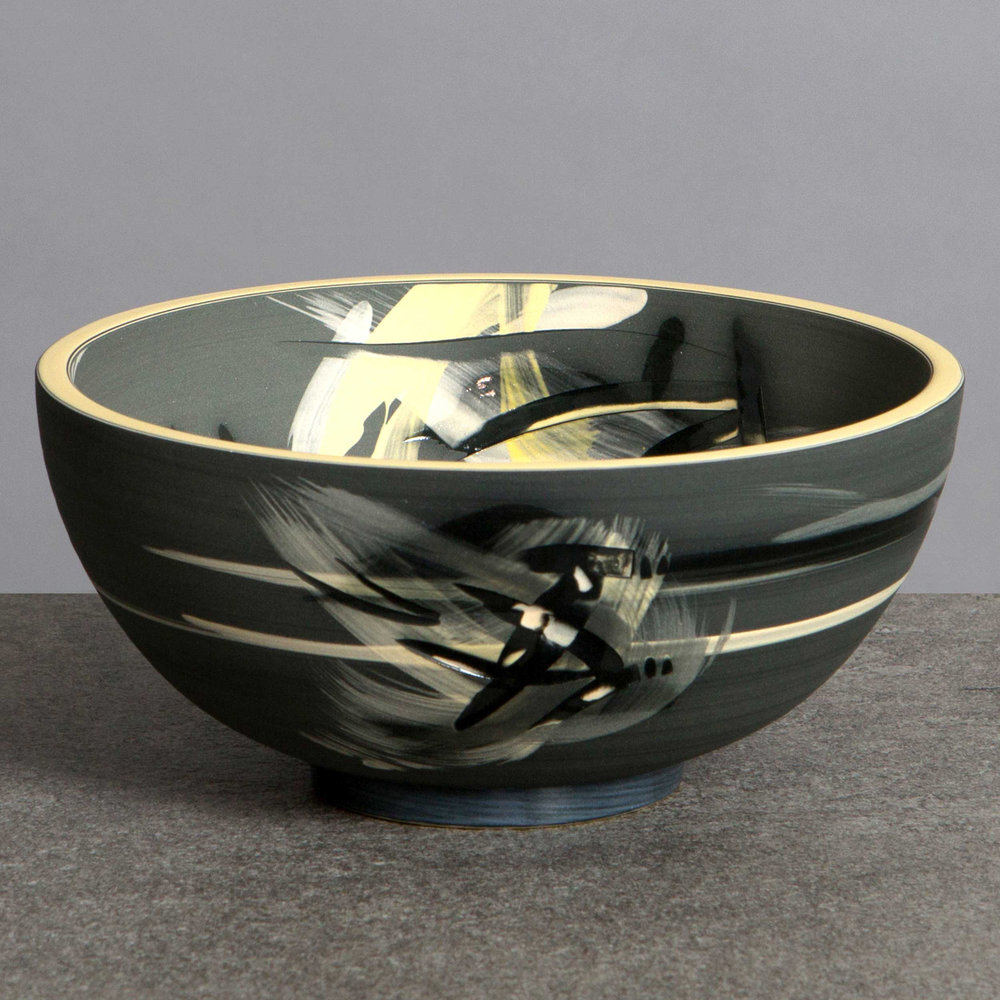 Accretion of Stars Ceramic Bowl by Rowena Gilbert