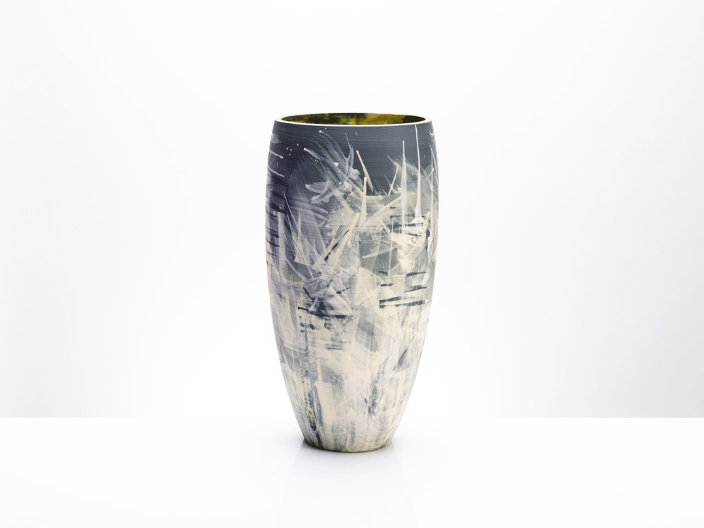 Above the Stars Large Vase by Rowena Gilbert
