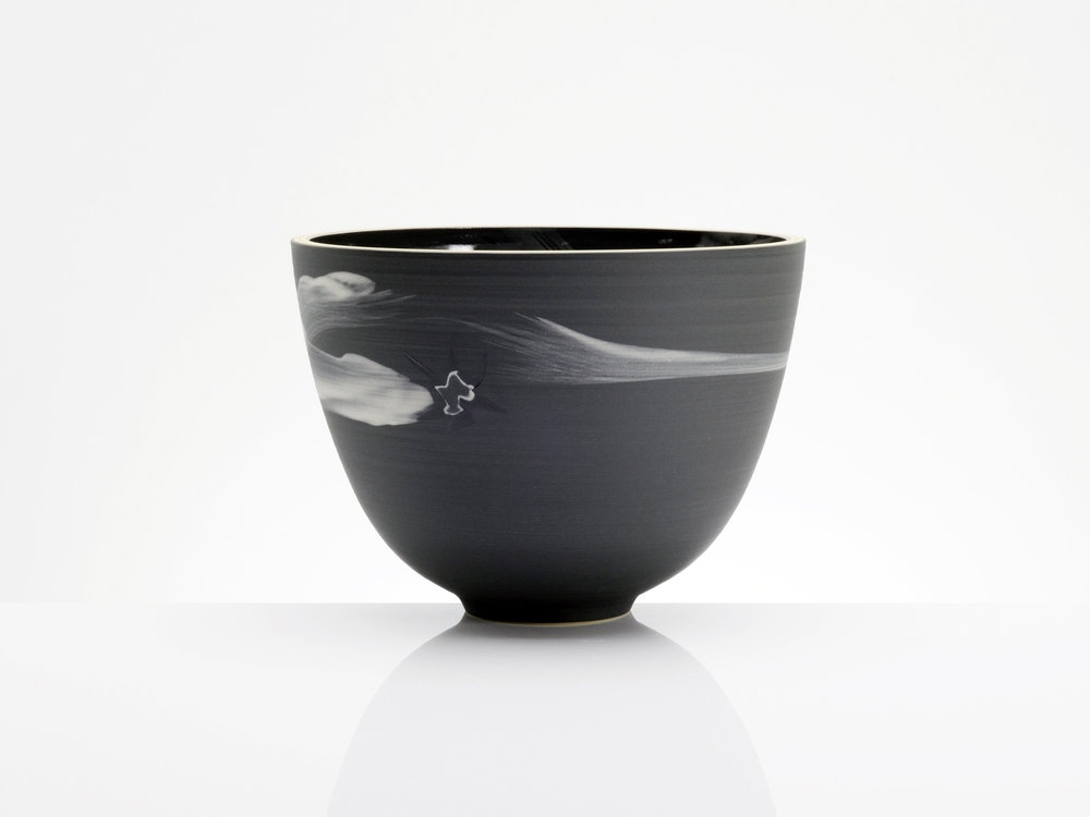Chinese Star Ceramic Bowl by Rowena Gilbert